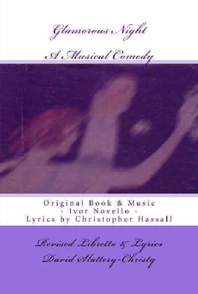 Glamorous Night Libretto Cover